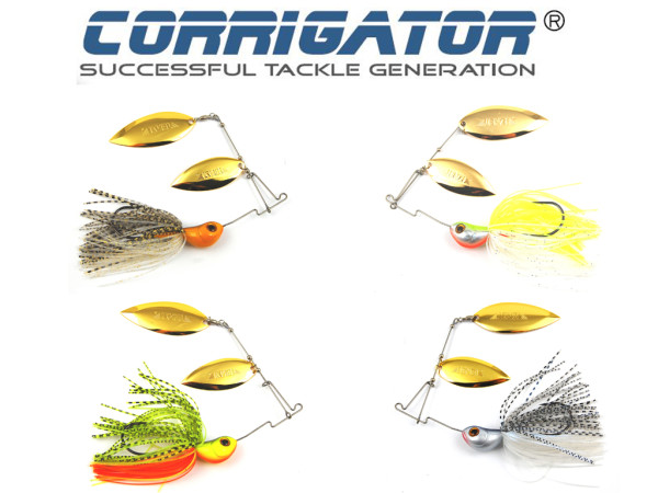 Spinnerbait - Corrigator Peacock XL 38 g