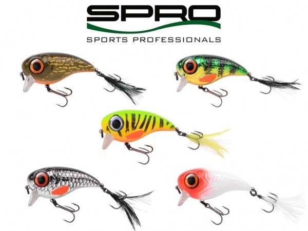 Spro - Fat Iris 80 Wobbler 40 g