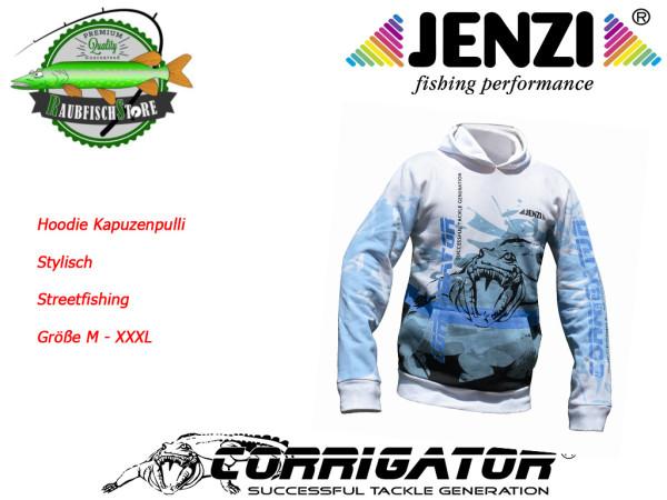 Corrigator Sweatshirt weiß - stylischer Kapuzenpulli