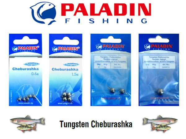 Tungsten Cheburashka - Flexibler Jig - Natur - 0,6 bis 10 g