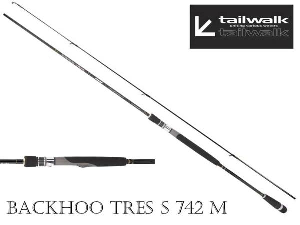 Tailwalk - Backhoo Tres S742 M - Spinn-Rute - Barsch 3,5 bis 14 g