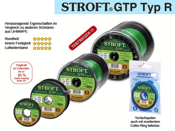 Stroft GTP Typ R - 100 m Spule - geflochtene Schnur