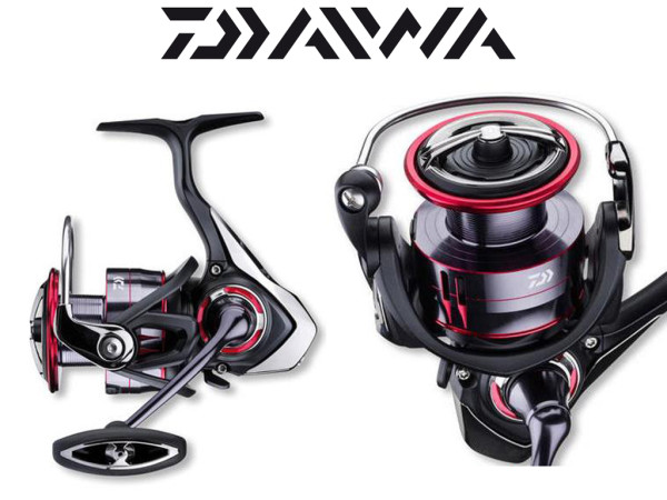Daiwa Fuego LT - Stationär-Rolle - Frontbremse