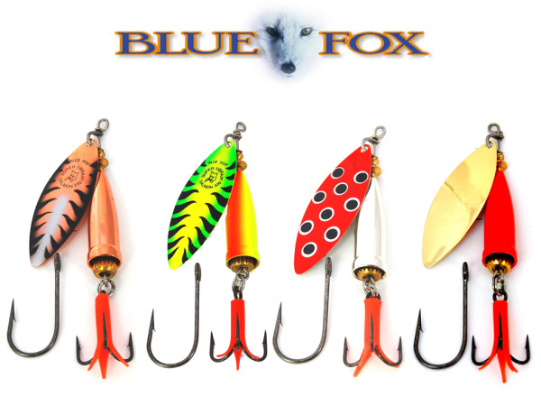 Blue Fox Salmon Super Vibrax 33 g
