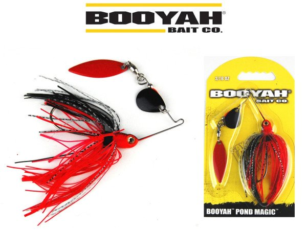 Booyah Spinnerbaits - Pond Magic - 4 Farben - 2 Spinnerblätter - 3 D Auge - 6 g