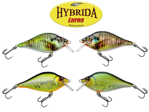 Hybrida K 1 Crankbait - Slow Floating - 9 cm - 25 g