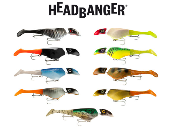 Headbanger Shad 22 cm Sinking