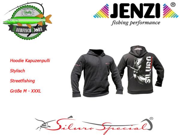 Siluro Sweatshirt schwarz -- stylischer Kapuzenpulli