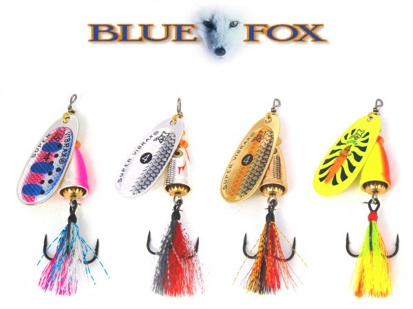 Blue Fox Vibrax Foxtail Spinner