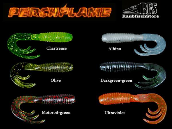 RFS Perch Flame - 6 cm - 2,1 g - Barsch und Zanderköder - 6 Farben