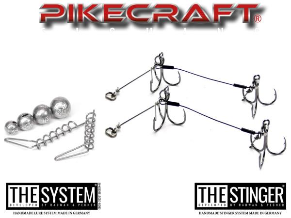 Pikecraft Raubfisch-Systeme - für 14 bis 30 cm Kunstköder