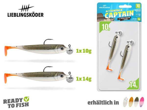 Lieblingsköder - Actionpack 10 bis 12,5 cm