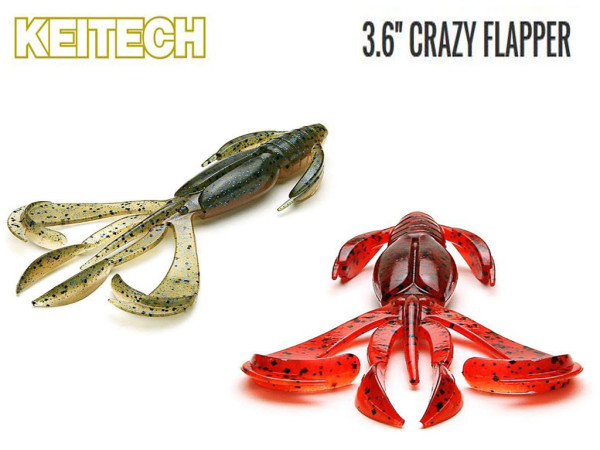 Keitech - Crazy Flapper 3,6""