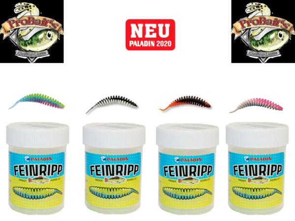 Pro Baits Feinripp - Set 5 cm Käse/Monster Crab - UL Top Köder - Forelle - Barsch
