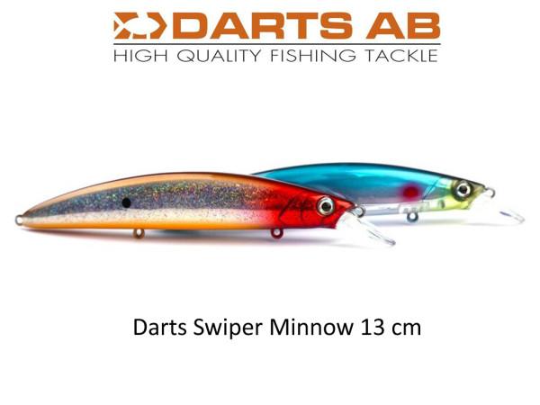 Darts Swiper - Minnow Wobbler 13 cm - VMC Haken