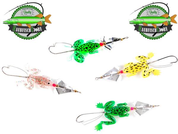 Frosch Spinner - incl. Weedless Krautschutz