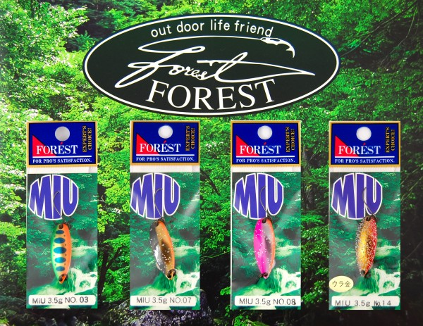 FOREST Miu Native 3,5 g - Forellenblinker
