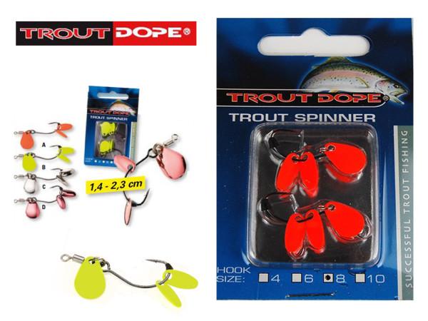 Trout Dope - Forellen-Spinner Hakengr. 6