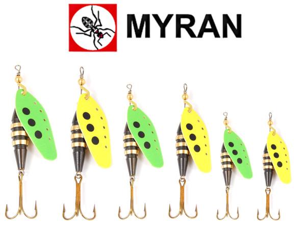 "Myran Spinner ""Toni Z"" Yellow - Lime"