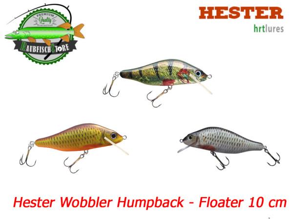 Hester Wobbler Humpback 10 cm