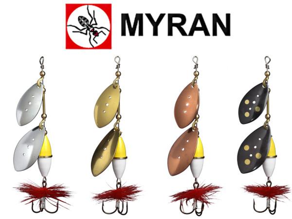 Myran Spinner Wipp Dubble 9 g