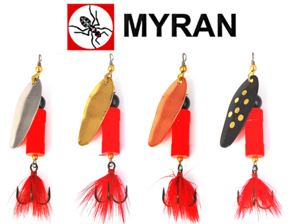 Myran Spinner Tuna Lax Hot 25g - 30 g