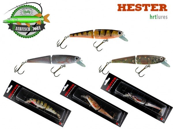 Hester Wobbler Jointed Trout Minnow