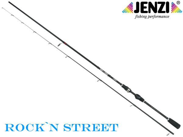 Rock`n Street - leicht Spin-Rute