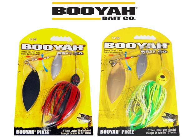 Booyah Spinnerbaits Pikee - 2 Blätter 14 gr - 4 versch. Farben