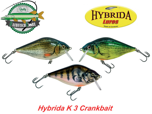 Hybrida K 3 Wobbler Crankbait