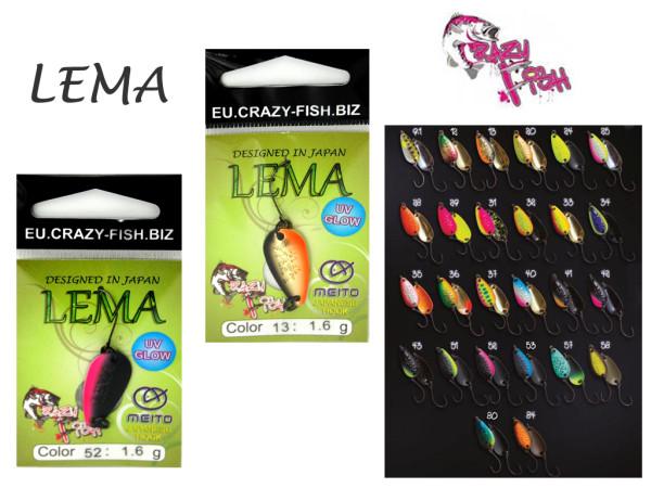 Crazy Fish - Forellenblinker Lema