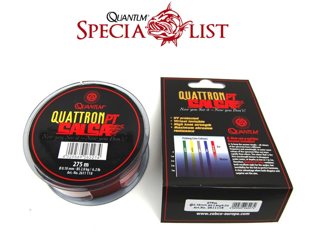 Quantum Quattron Salsa Angelschnur