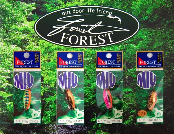 FOREST Miu Native 2,8 g - Forellenblinker