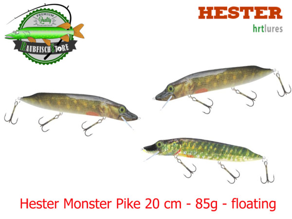 Hester Monster Pike 20 cm