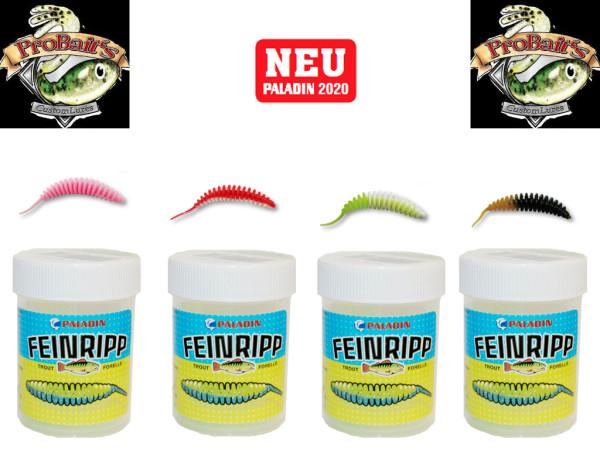 Pro Baits Feinripp - Set 5 cm Bubble Gum - UL Top Köder - Forelle - Barsch