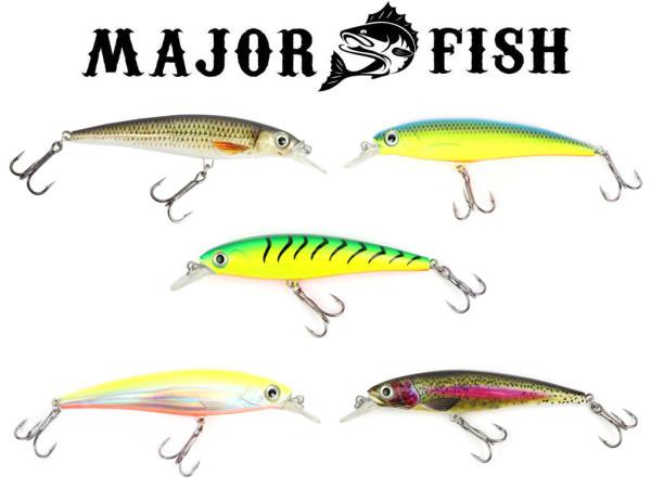 Major Fish Zander-Wobbler 10 cm - Flachläufer