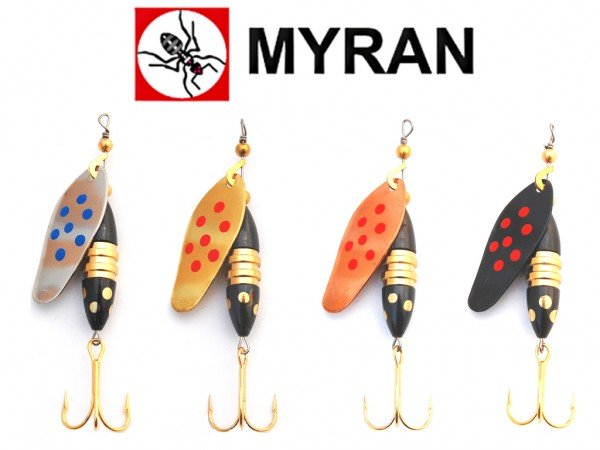 Myran Spinner Panter Pricking 10 g