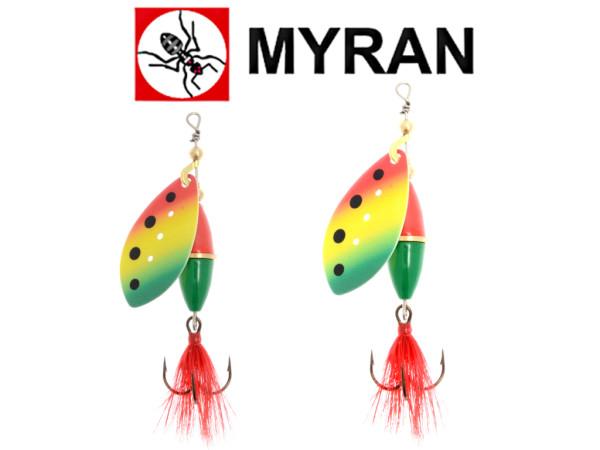 Myran Spinner Wipp-Zulo - 10 bis 15 g