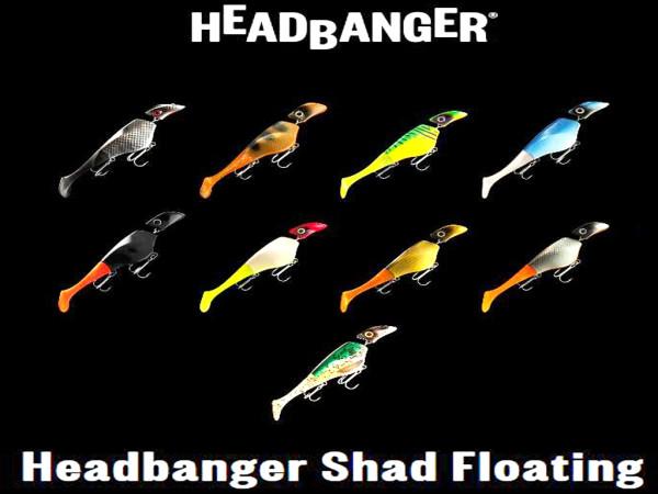 Headbanger Shad 16 cm - Floating