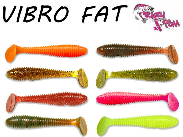 Crazy Fish - Vibro Fat 71 mm