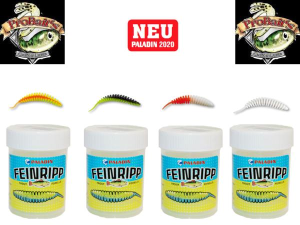Pro Baits Feinripp - Set 5 cm Knoblauch - UL Top Köder - Forelle - Barsch