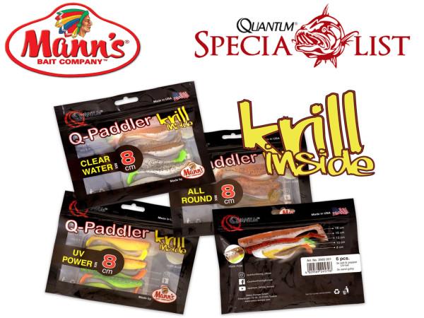 Q-Paddler Krill inside 8 cm Mixpakete