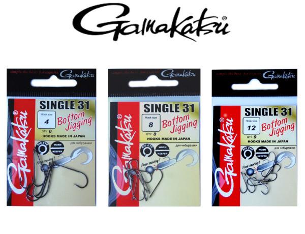 Gamakatsu Hook Single 31 - Bottom Jigging - Einzelhaken mit Öhr